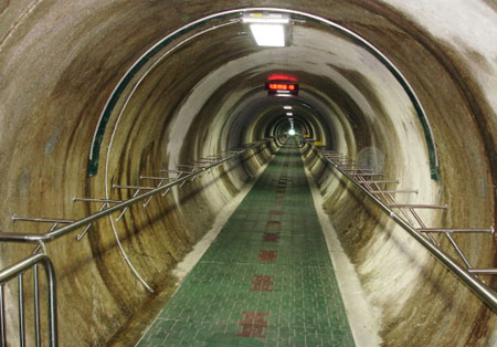 Image result for tunnel korea