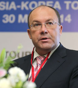 Acting director of the Federal Agency for Tourism, Oleg Safonov.
